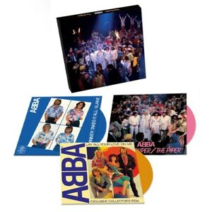 "Abba - Super Trouper - Limited Edition 3 x Coloured 7"" Vinyl Box Set  - in Stock"