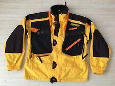 Spyder Tommy Moe Vintage Shell Jacket Yellow Black Mens Size Medium