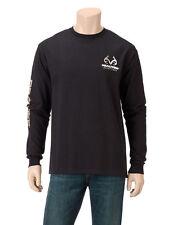 Mens Realtree Outfitters Long-Sleeve Shirt NWT Black