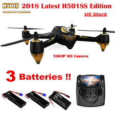 Hubsan X4 H501S Drone Brushless 1080P Fpv Rc Quadcopter W/ Gps 20 Mins Flight
