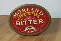 Morland Original Cask Bitter Metal Brass Beer Clip Badge