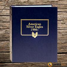 Whitman U.S. Silver Eagle Album 1986- Album #3395