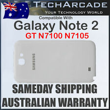 Samsung Galaxy Note 2 GT N7100 N7105 Back Rear Housing Battery Cover Case White