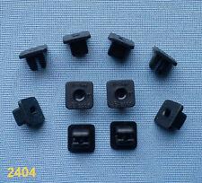 (2404) 10x Verkleidung Clips Befestigung Klips Halter Clip Universal 8mm schwarz