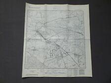 Landkarte Meßtischblatt 3244 Kremmen, Schwante, Vehlefanz, Bärenklau, 1945