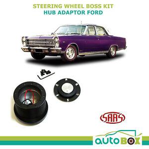 Ford Fairlane ZC ZD ZF 1972-1973 LTD SAAS Steering Wheel Boss Kit Hub Adaptor