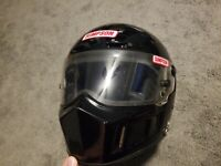 Vintage Simpson ghost bandit helmet black full face Giants Despair Climb 7-3/8