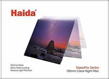 HAIDA NanoPro MC Clear Night Filter - 100 mm x 100 mm