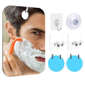 Anti Fog Shower Mirror Bathroom Washroom Fogless For Men Shaving Mirror Trav.bu
