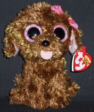 "TY BEANIE BOOS BOO'S - MADDIE the 6"" DOG - MINT w/ MINT TAG"