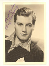 GEORGE MONTGOMERY SIGNED AUTOGRAPHED VINTAGE 5 X 7 PHOTO (527C)