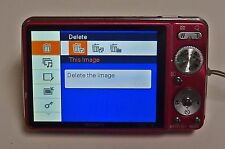 RED Sony Cybershot DSC-W230 12.1 MP Digital Camera - Works well except flash