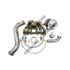 Turbo Kit Manifold Downpipe Wastegate For 1JZGTE 1JZ-GTE GS300 SC300 Supra MK3