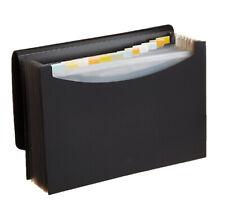 Expanding Accordion File Folder Portable Document Organizer Letter Size
