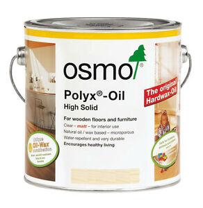 Osmo Polyx Hard Wax Oil 3032 Satin-Matt /3062 Matt /3011 Glossy /3065 Semi-Matt
