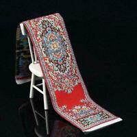 1:12 Miniatur Woven-Teppich türkischen Teppich für Puppenhaus Zubehör P3G0 N0W5