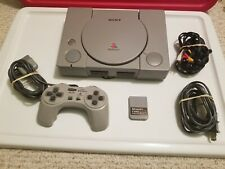 Sony PlayStation Launch Edition Gray Console (Scph-1001)