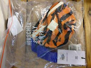 Herschel Tiger Orange and Blue Fourteen Fanny Pack Hip Belt RARE!