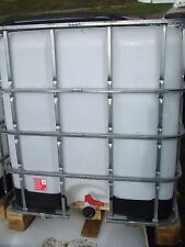 ibc 1000 liters tank oil water tank wood log burning store bio diesel storage