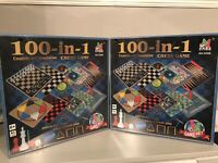 100 Classic Games Compendium,Chess Game with 100 in 1 Kit ,Board Game