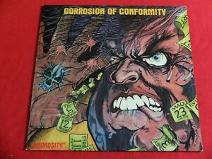 CORROSION OF CONFORMITY ANIMOSITY (NL 1985 ROADRUNNER 9764) EX/VG+