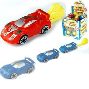 Car Spring Launcher sports cars boys birthday party loot favour bag Filler toys