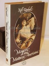 BIOGRAFIA - N. Kimball: Memorie di una Maitresse Americana - Club Italiano 1975