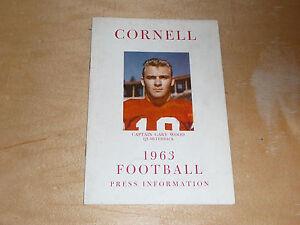 1963 CORNELL COLLEGE FOOTBALL MEDIA GUIDE  EX-MINT BOX 9