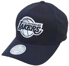 Mitchell & Ness Los Angeles Lakers INTL600 Black White Flexfit Snapback Cap