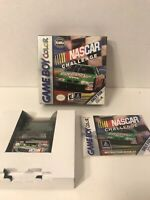 NASCAR Challenge (Nintendo Game Boy Color, 1999) Game Box Manual