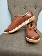 NEW Cole Haan Men Brown Leather Lace Up Berkley sneaker sizes 10.5