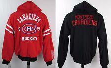 Montreal Canadiens Men's NHL G-III Reversible Mid Weight Designer Hoodie