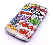 Schutzhülle f Samsung Galaxy Ace 2 i8160 Case Tasche Cover Comic Funny Crash