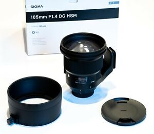 Sigma 105mm F1.4 DG HSM Art Objektiv für Nikon FX 259955