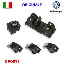 5 Pulsanti VW GOLF 5 6 V VI PASSAT TIGUAN ORIGINALI pulsantiera interruttori