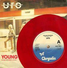"7"" UFO (Michael schwenker/Scorpions) - Young Blood/RED WAX // UK 1980"