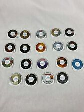 HUGE PlayStation Portable PSP UMD Movies Lot of 19!  Disc Only.  LOOK!