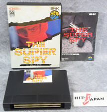 NEO GEO AES THE SUPER SPY SNK neogeo FREE SHIPPING JAPAN Game Ref/3136