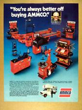 1986 AMMCO Automotive Service Equipment & Tools vintage print Ad