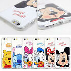 Cartoon Mickey Minnie Skin Soft TPU Phone Case Cover For iPhone 6 6S 7 Plus