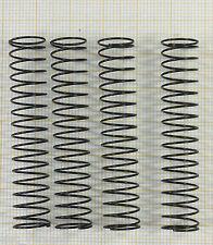 4 x Druckfeder, Länge 53mm, Außen Ø10,5mm, Drahtstärke 0,6mm