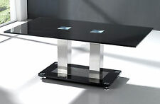 Chrome Rectangle Modern Coffee Tables with Flat Pack
