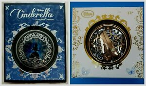 2 Disney Cinderella Compact Mirrors Dual Sided
