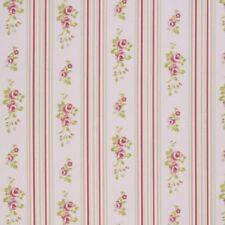 Rideaux et cantonnières rose à motif Floral pour le séjour