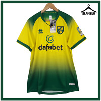 KIDS OFFICIAL NORWICH CITY FC REPLICA 2018-19 HOME SHORTS