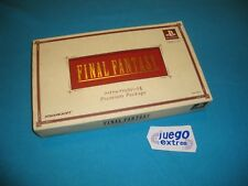 Final Fantasy I II 2 Limited Premium Package Sony Playstation NTSC-J Square Enix