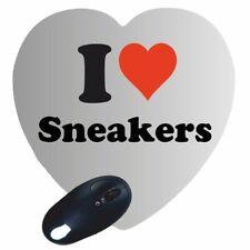 Herz Mauspad I Love Sneakers Gaming Mousepad Weihnachten Ostern