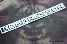 D969 Kompressor Emblem Badge auto aufkleber 3D Schriftzug Plakette car Sticker