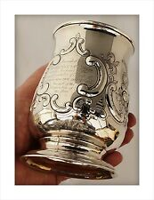 1783 Giorgio III Argento Sterling AGRICOLI Trophy TANKARD. Westbury pecore Fair