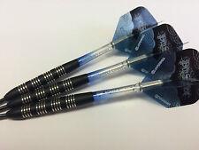 24g Nodor Tungsten Darts Set, Target Vision Pro Grip Stems & Pro Series Flights